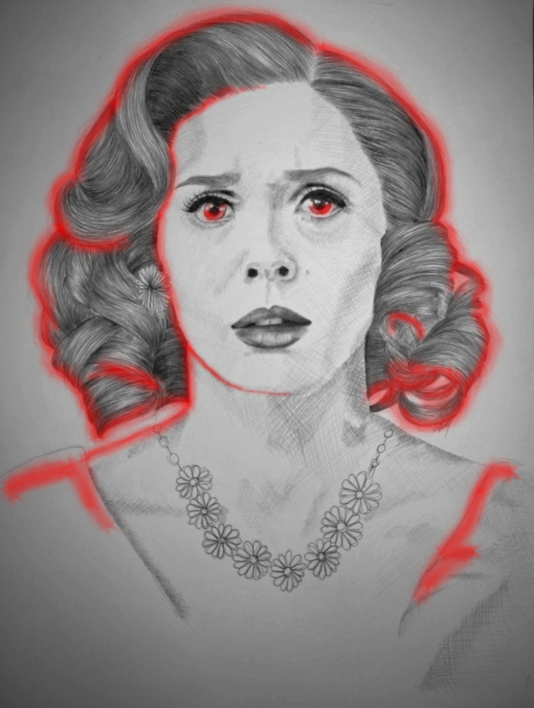 Elizabeth Olsen by AnaPisichiuta
